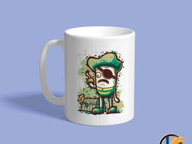 Cup Designed By Rapidwebhub