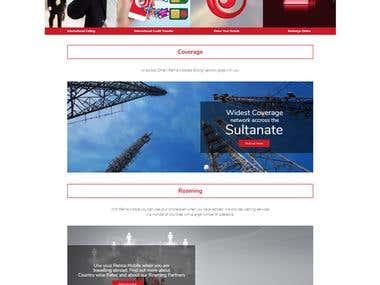 Renna Mobile Website design & development