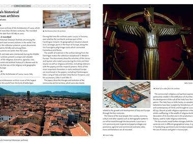 UNESCO's Memory of the World - Lucca Archieves