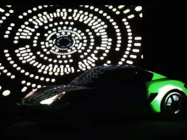 Projection Mapping - Interactive LIve Motion