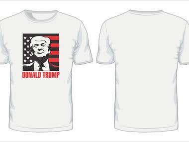 Donald Trump T-Shirt Design