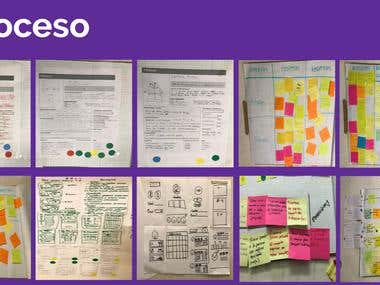 Design of an UX experience for and app in CDMX