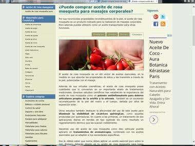 Muestra de artículos redactados para sitio Innatia.