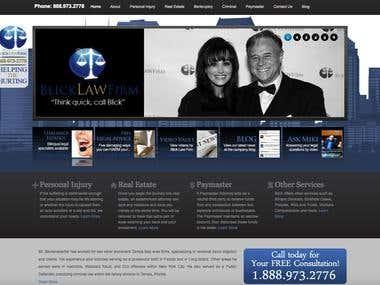 Law Website Development