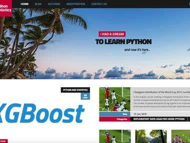 Blog Website Development
