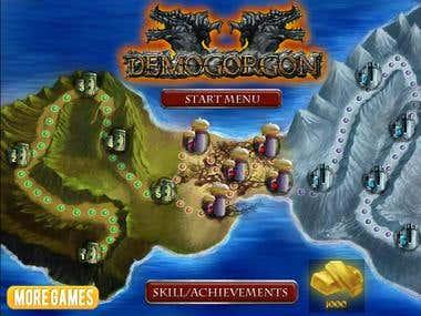 Flash game Demogorgon
