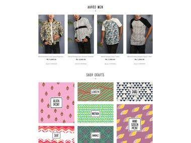 Wordpress Online Shopping Based Website