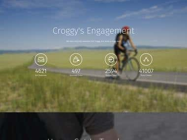 Croggy App Website | Wordpress Development