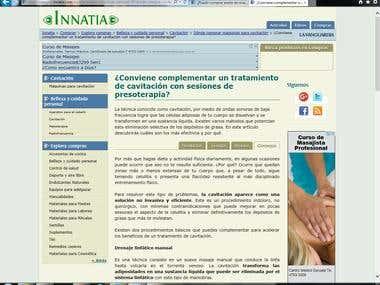 Artículos sitio Innatia-