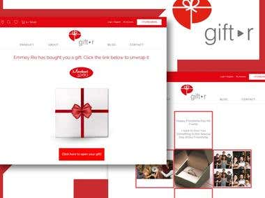 Gift-r Shopify App