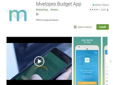 Mvelopes Budget App