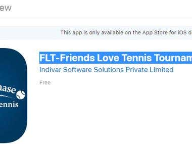 FLT-Friends Love Tennis Tournament