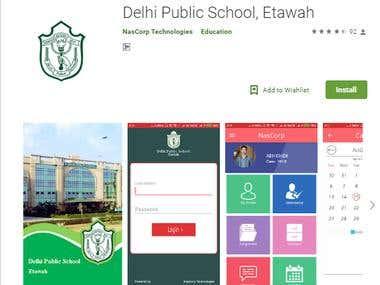 Delhi Public School Etawah | Android School ERP App