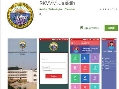 RKVVM, Jasidih | Android School ERP App