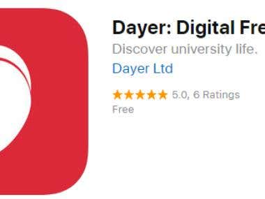Dayer Digital Freshers' Fair iPhone Application Development