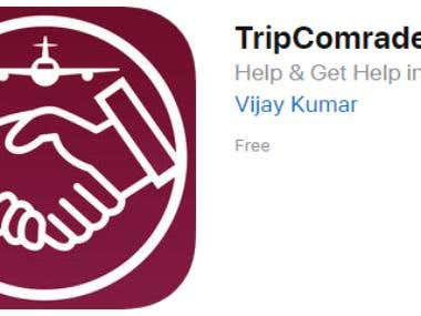 TripComrades | iPhone App