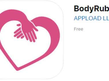 BodyRub VIP | iPhone App Development