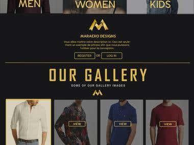 Website Design for Maraeko
