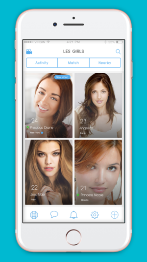 Native iOS app - exclusive dating app