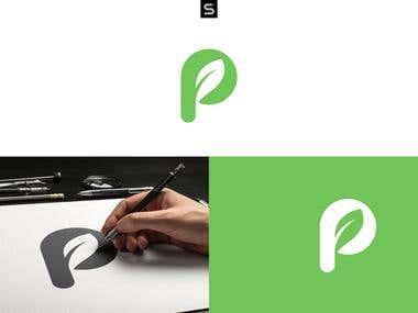 P Leaf logo mrak