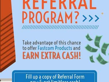 Referral Program Poster