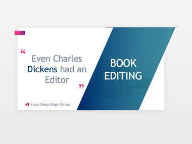 I will be your professional book editor.