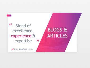 Blogs & Articles