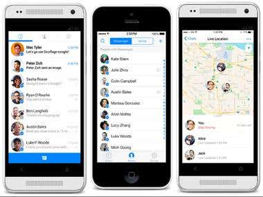Live Messenger App for Android & iOS