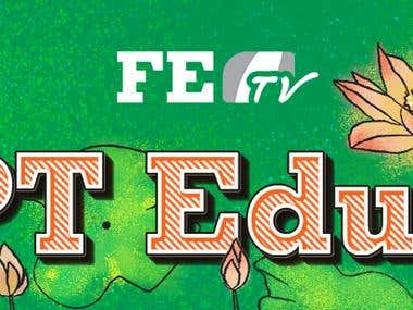 Header and Footer for official email of FPT Edu Tv
