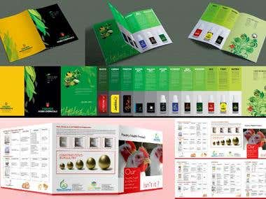 Flyers and Packaging Designed