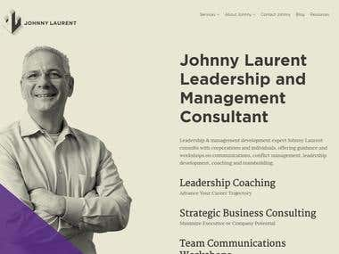 Psd to Wordpress ( Leadership and Management Consultant )