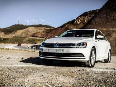 Volkswagen morocco ad photography