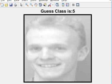 Face Recognition with Matlab