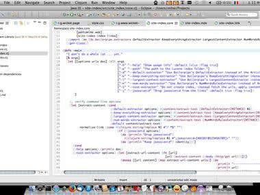 Java, Lucene and Clojure - web site search engine