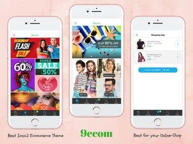 ionFull Ecommerce App 9ecom
