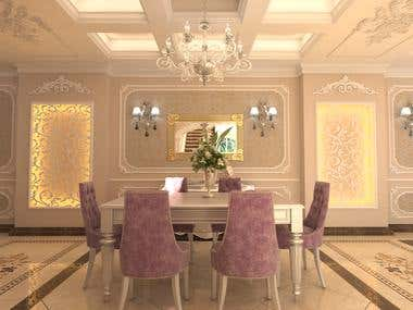 New Classic Dinning Room