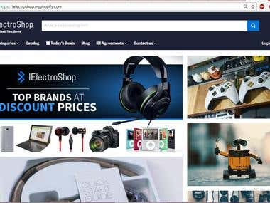 Digital & Electronics Online Store