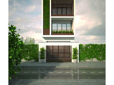 House design and Render