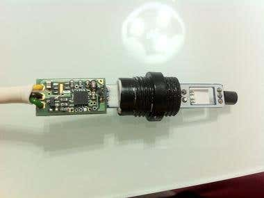 1-Wire Temperature and Relative Humidity Sensor