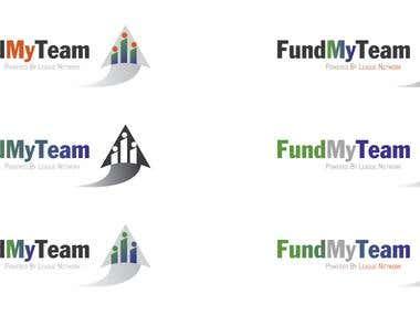Fund My Team Logo Concepts