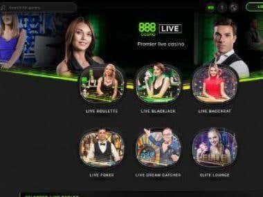 Online Casino (NodeJS / AngularJS)