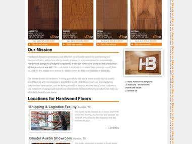 Flooring Shopping cart Website