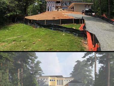 Front Yard and Backyard design