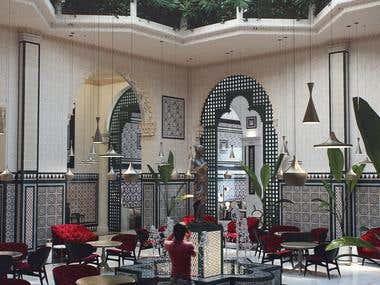 01 Interior Design for The England Hotel in Havana