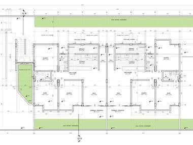 Floor plan of Hotel located in João Pessoa, PB