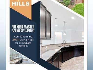 Graystone Hills Flyer Design Mockup