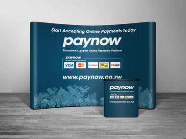 Paynow Exhibition Mock Up