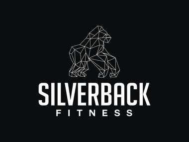 SILVERBACK FITNESS - Geomatric Logo
