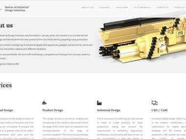 B-IDS.com - portfolio website