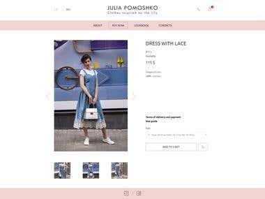 juliapomoshko.com - fashion store